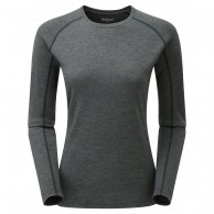 Montane Women's Primino 220 Long Sleeve T-Shirt, Black