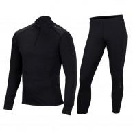 Cairn Comfort Zip 180 M, skidunderställ, män, svart