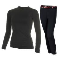 Cairn Warm 180, skidunderställ, dam, svart