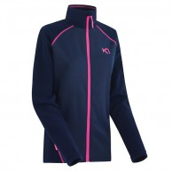 Kari Traa Kari fleece F/Z skipullie, night