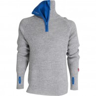 Ulvang Rav sweater w/zip, herr, grå