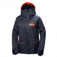 Helly Hansen W Powderqueen Ski Jacket, dam, blå