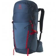 Haglöfs Spira 35  Ryggsäck, blå/röd