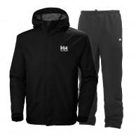 Helly Hansen Seven J set, regnkläder, herr, svart