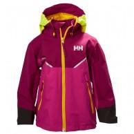 Helly Hansen K Shelter, regnjacka, barn, lila