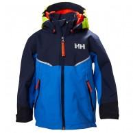Helly Hansen K Shelter, regnjacka, blå
