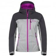 Kilpi Elia, softshell jacka, dam, grå/violet