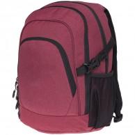 4F Unisex 30L, ryggsäck, mörk röd