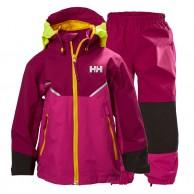 Helly Hansen K Shelter, regnkläder, barn, lila
