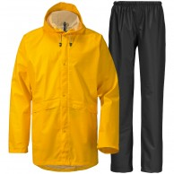 Didriksons Avon, regnkläder, unisex, gul