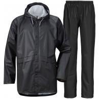 Didriksons Avon, regnkläder, unisex, svart