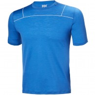 Helly Hansen Merino Light SS, herr, blå