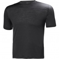 Helly Hansen Merino Light SS, herr, ebony