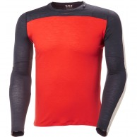 Helly Hansen Merino Light LS, herr, grenadine