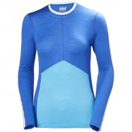 Helly Hansen Merino Light LS, dam, blå