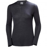 Helly Hansen Merino Light LS, dam, ebony