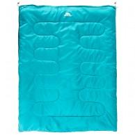 Trespass Catnap dubbel sovsäck, 180 cm, turkos