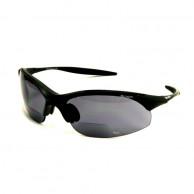 Demon 832, solglasögon, m. läsruta, svart