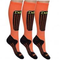 Deluni Skidstrumpor - 3 par, Orange