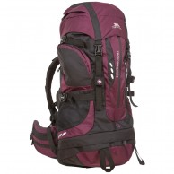 Trespass Troposphere ryggsäck, 65L, Blackberry