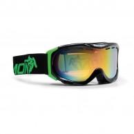 Demon Divine skidglasögon, svart/grön