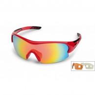 Demon Fuel sportsglasögon, röt, 3 linser
