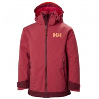 Helly Hansen Hillside skidjacka, junior, cardinal
