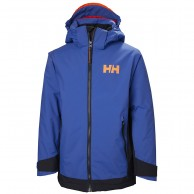 Helly Hansen Hillside skidjacka, junior, olympian blue