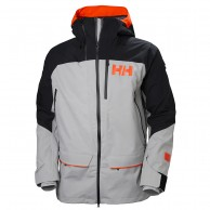 Helly Hansen 2.0 Ridge Shell Jacket, Herr, Grå/svart
