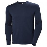Helly Hansen Lifa Merino Crew, herr, evening blue