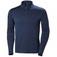Helly Hansen Lifa Merino Max 1/2 zip, herr, evening blue