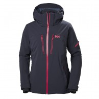 Helly Hansen W Motionista skidjacka, dam, graphite blue