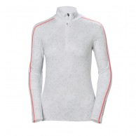 Helly Hansen W Lifa Active Graphic 1/2 Zip, dam, white