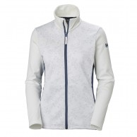Helly Hansen W Graphic fleece jacket, dam, white