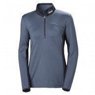 Helly Hansen W Phantom 1/2 zip, dam, graphite blue