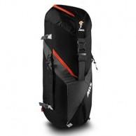 ABS Vario 45+5 Zip On, väska för ryggsäck, svart/orange