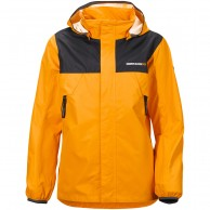 Didriksons Vivid Boy's Jacket, junior, orange