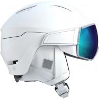 Salomon Mirage, skidhjälm med visir,  white/solar
