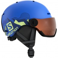 Salomon Grom Visor, pop blue mat