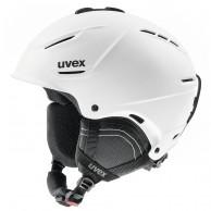 Uvex p1us 2.0 skidhjälm, white mat