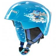 Uvex Manic, skidhjälm, blue snow