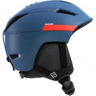 Salomon Ranger2 skidhjälm, moroccan blue/neon red