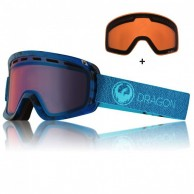 Dragon D1 OTG, Mill/blue, Lumalens