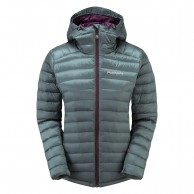 Montane Featherlite Down Jacket, dam, stratus grey