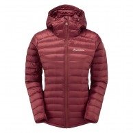 Montane Featherlite Down Jacket, dam, tibetan red