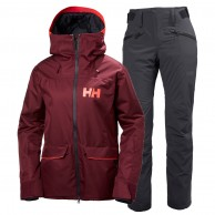 Helly Hansen W Powder/Legendary skidset, dam, port/blue