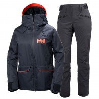 Helly Hansen W Powder/Legendary skidset, dam, blue