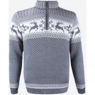 Kama Arthur Merino Sweater, herr, grey