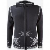 Kama Sif Merino Sweater med huva, dam, graphite