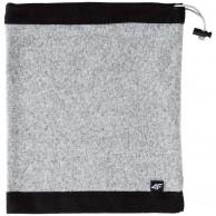4F Fleece halskrage/bandana, grey melange